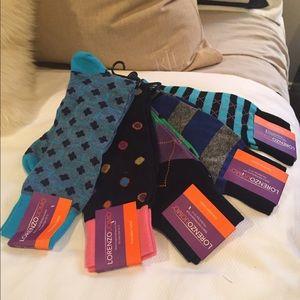 Lorenzo Uomo Other - NWT. Lorenzo Uomo dress sock bundle!