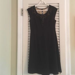 Jessica Simpson Black Maternity Dress