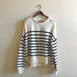 Zara Striped Striped Sweater