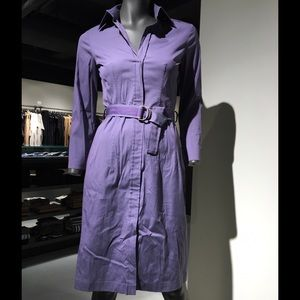 Other - Hugo Boss Dress, Purple Tall Boot and Grey Boot