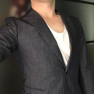 Z Zegna Other - Z Zegna tailored denim blazer MSRP $695