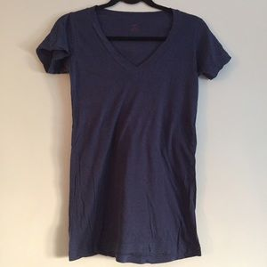 LNA Tops - LNA Navy V Neck Shirt SZ M