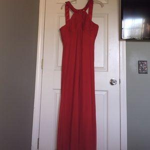 Alex Evenings Dresses - Red long formal dress