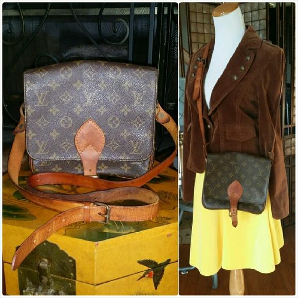 914a187defbe Louis Vuitton Handbags - Auth. LV Cartouchiere MM Crossbody Bag