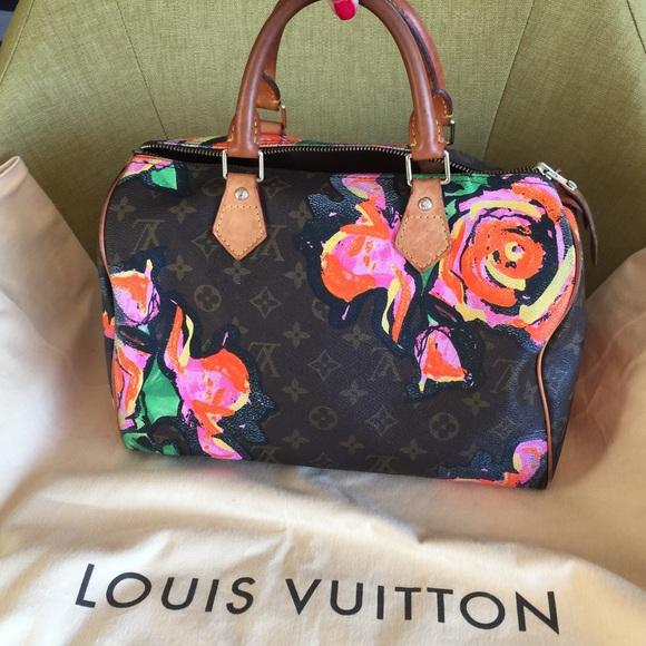 f218c4e60b07 Louis Vuitton Handbags - Louis Vuitton Stephen Sprouse Roses Speedy!
