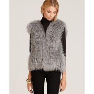 Michael Kors lamb fur vest size S