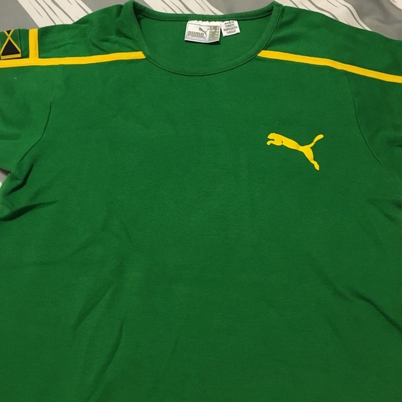united states for whole family separation shoes Vintage Puma Jamaica Soccer T-shirt
