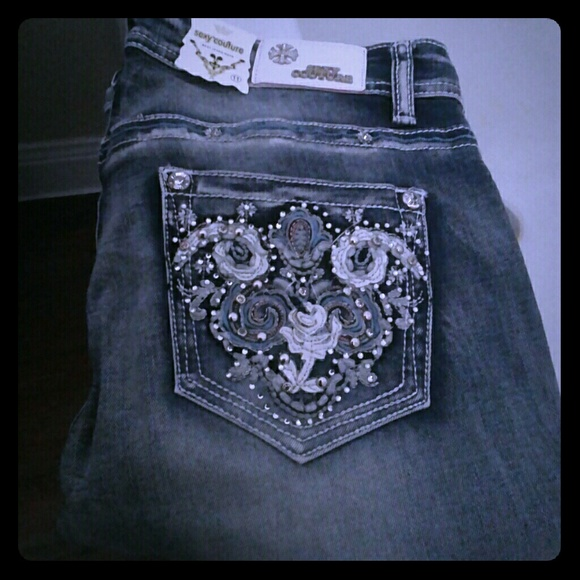 50% off Sexy couture Denim - Sexy Couture Stretch Jeans Size 11 ...