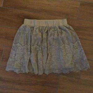 Lightweight tulle sheer skirt by Rue 21