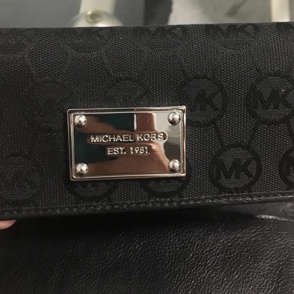 Michael Kors Bags - MK black wallet