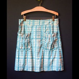 Sz 4 Anthropologie Girls From Savoy Skirt