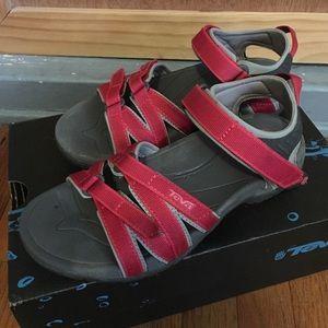 Teva Shoes - Teva Tirra Women's Sandals in Red ❤️