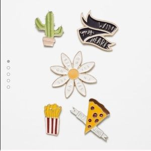 Zara Accessories - Zara pin collection set, 5 pieces together