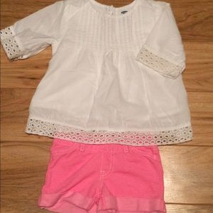Other - ⭐ Old Navy top and Circo shorts