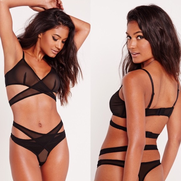 Missguided Other - NWT ⭐️ Missguided Wrap Bra & Thong Set