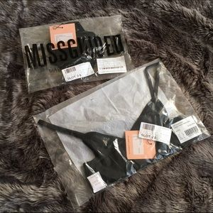 Missguided Intimates & Sleepwear - NWT ⭐️ Missguided Wrap Bra & Thong Set