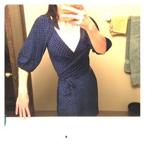 BCBGeneration blue wrap dress