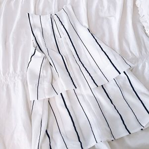 Faithfull the Brand Tops - Truth NYC navy and white striped tank Blouse