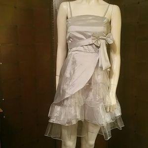 Silver tulle dress        !¡!HOST PICK!¡!