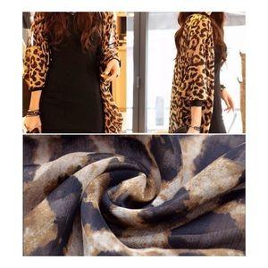Solstice Boutique Tops - 🌟Cheetah Print Cardigan Kimono