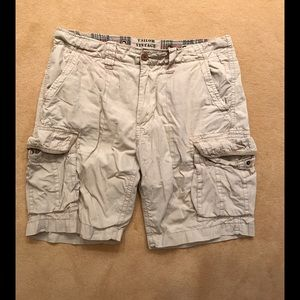 Tailor Vintage Other - Tailor Vintage Tan Cargo Shorts