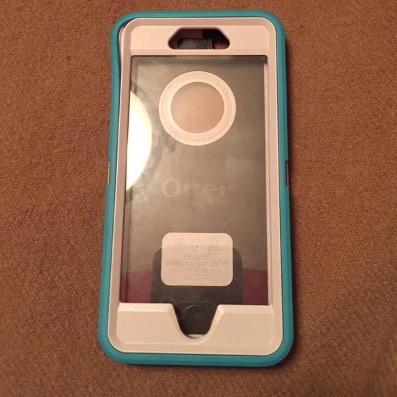 best service 1c2e5 4ea5c Otterbox IPhone 6 Seacrest Teal/White