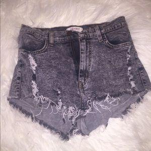 Necessary Clothing Pants - Cotton-Denim Shorts 🤗