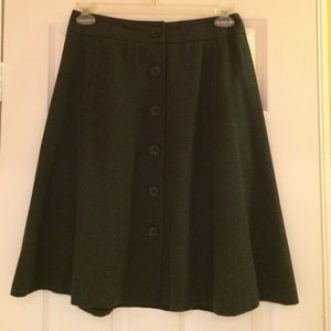 Banana Republic Dresses & Skirts - Brand new dark grey 100% cotton skirt