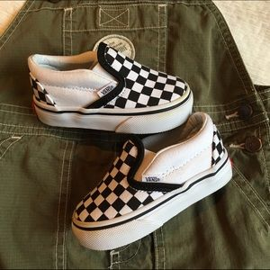 Vans Shoes | Baby Checkered Vans | Poshmark