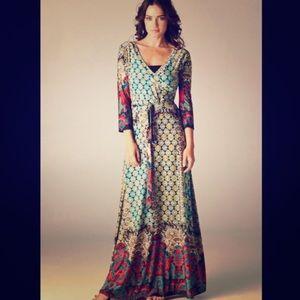 Dresses & Skirts - NWOT Bohemian Knit Patterned Dress