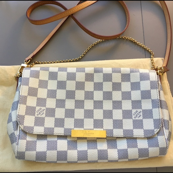 c211a606cc0d Louis Vuitton Handbags - Louis Vuitton Favorite MM Damier Azur