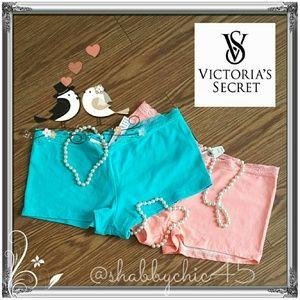 Victoria's Secret Other - VS Boy Shorts -Bundle of 2 PRICE FIRM