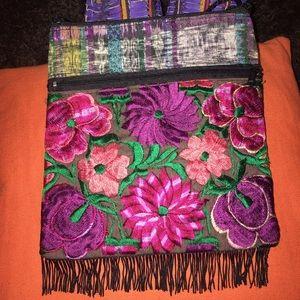 Handmade Handbags - New Mexican Crossbody Embroidered Bag