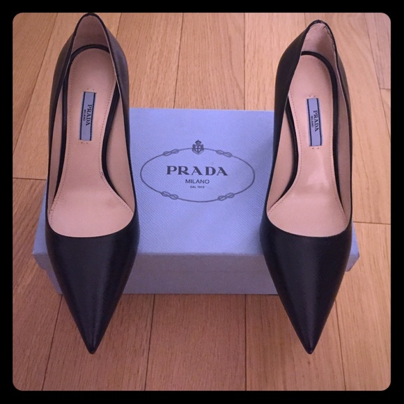 705444c406 Prada Shoes | New Saffiano Leather Pointed Toe Pump | Poshmark