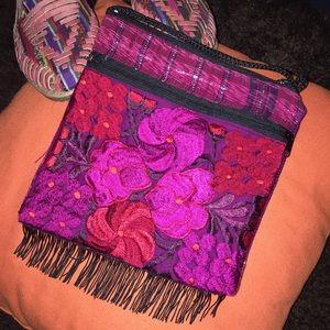 Handmade Handbags - New colorful embroidered Crossbody Bag