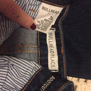 Bullhead Black Jeans - Darker Denims/Bootcut