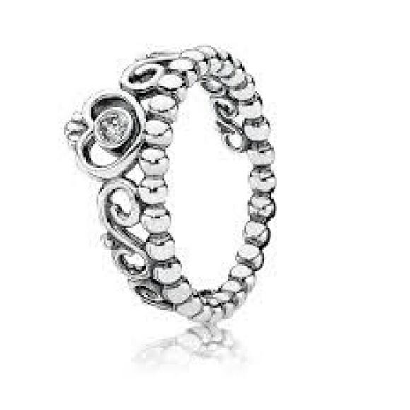 d06ab8557 Pandora Jewelry   My Princess Tiara Ring Size 7   Poshmark