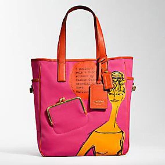 6cd6e4f8cfeb Coach Handbags - REDUCED Coach Bonnie Cashin Carry Madison Ave Tote