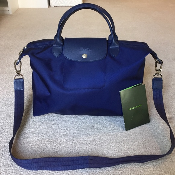 New Arrival Fashion Sale Get To Buy Le Pliage Shopper Bag - Only One Size / Blue Longchamp Finishline For Sale Best Sale Cheap Online feJDV