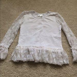 Other - White girl long sleeved shirt