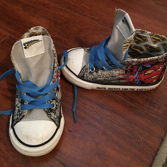 d8ec9cd904bf Converse Other - Toddler Superman converse size 7