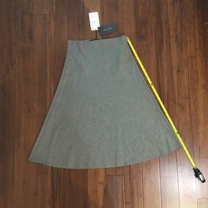 Zara Dresses & Skirts - NEW Zara A-line grey skirt