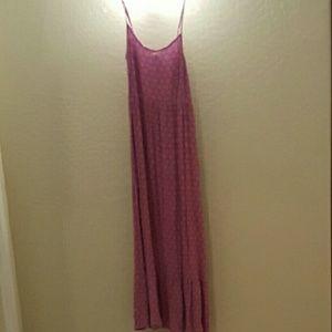 NWT Magenta Maxi Dress