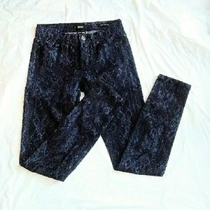 BDG Denim - BDG Blue Diamond Print Jeans nwot