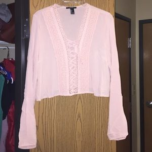 Forever 21 Tops - NWOT Long Sleeved Crop Top