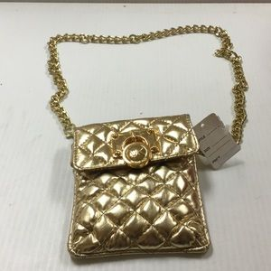 Michael kors gold fanny pack