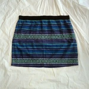 American Eagle Outfitters Dresses & Skirts - American Eagle Outfitters Blue Mini Skirt