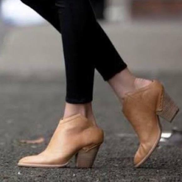 0c979090f8e2 Free People Shoes - Free people dolce vita HAKU ankle mule boots tan