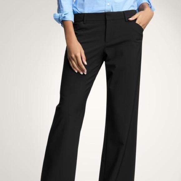 GAP Pants   Curvy Flare Leg Black Size 0r Stretch   Poshmark f90e502f8e