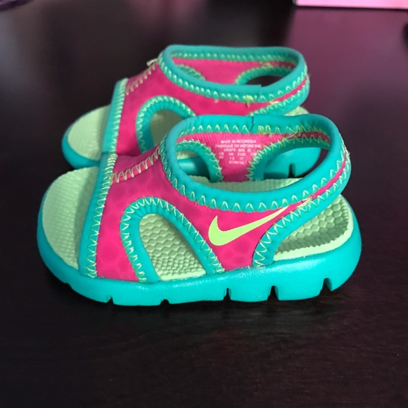 c0e1a1ec371 ... sandals 8d5f9 a3692 coupon code for baby girl nike sandals 8d5f9 a3692   greece child kids shoes child shoes 13.0 16.0cm pool sea bathing velcro  903634 ...